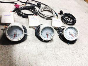 GReddy ブーストメーター・排気温メーター・水温メーター